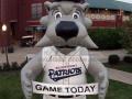 Somerset Patriots Inflatable Mascot