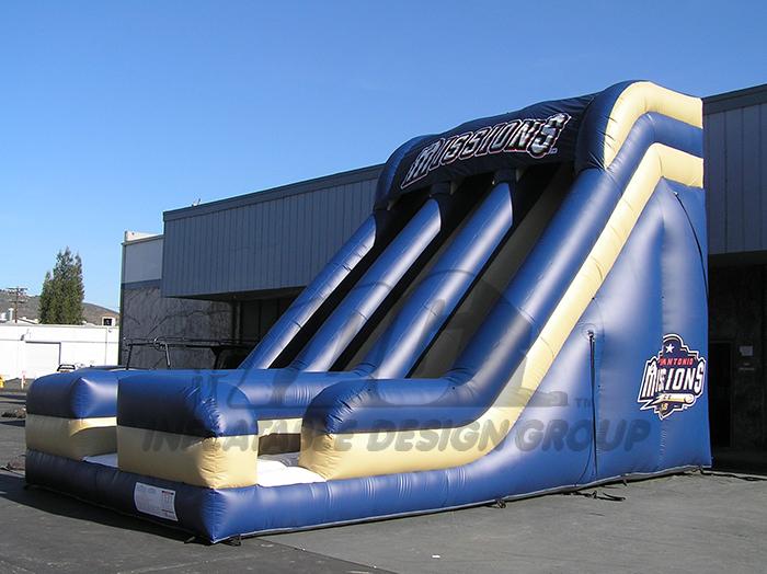 San Antonio Missions Inflatable Slide