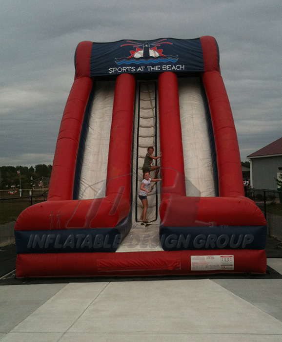 Sports at the Beach Inflatable Slide