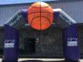 stockton kings custom inflatable archway