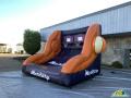 Phoenix Mercury Inflatable Free Throw Contest