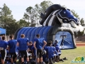 Inflatable Mustang Tunnel Entryway