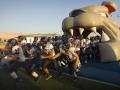 Inflatable Bulldog Runout