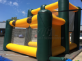 baylor custom interactive football inflatable for fan zone