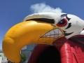 Inflatable Bird Beak with Smoke