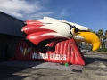Inflatable Bird Head Tunnel