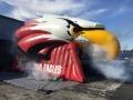 Inflatable Bird Head with Smoke