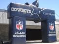 Dallas Cowboys Square Block Archway