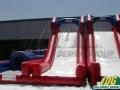 New England Patriots Team Challenge Football Inflatable