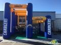 LA Chargers Dual Kick & Toss