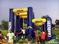 Chargers Field Goal Kick Custom Interactive Inflatable