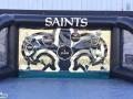 Saints football interactive inflatable