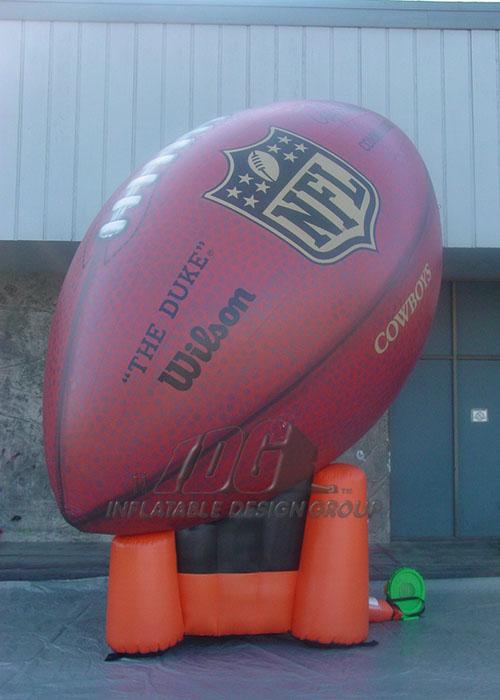 NFL Football on tee logo