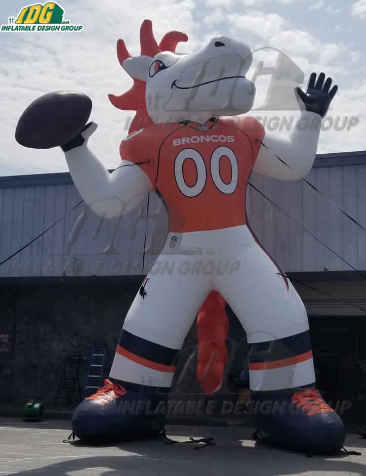 Denver Broncos Custom Inflatable Mascot