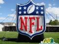NFL Football Inflatable Logo