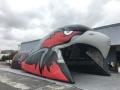 Inflatable Hawk Head