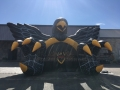 Inflatable Hawk Tunnel Front View