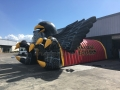 Inflatable Hawk Tunnel