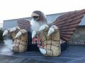 Inflatable Hawk with Smoke