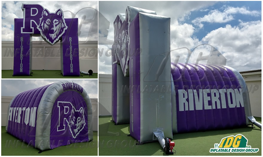 Inflatable-Arch-Combo-Huskies-Riverton-HS