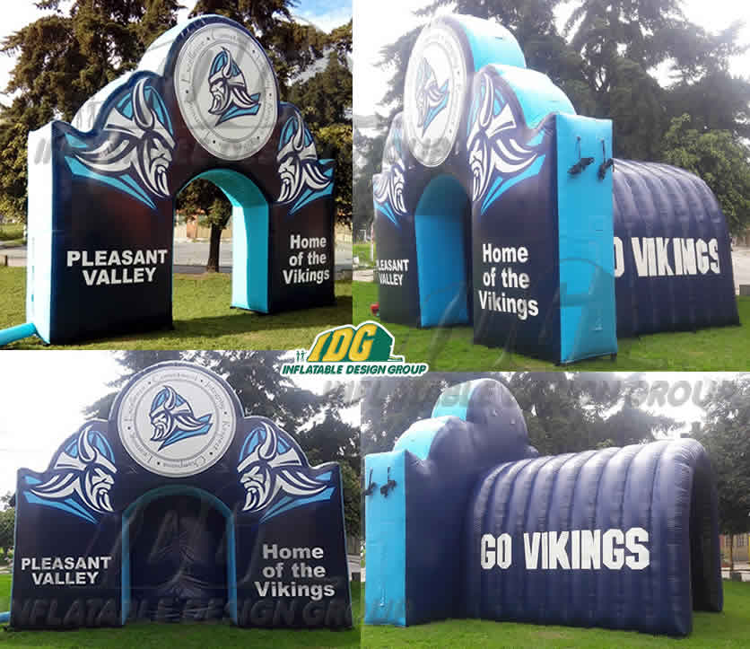 Inflatable-Arch-Entryway-Pleasant-Valley-Vikings