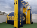 BRANTLEY HERONS custom inflatable tunnel and arch