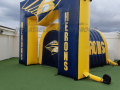 BRANTLEY HERONS inflatable tunnel arch combo