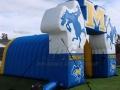 Cowboys Tunnel custom inflatable