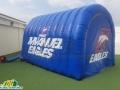 Immanuel Eagles custom inflatable entryway