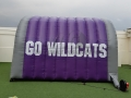 Wildcats Inflatable Sports Tunnel