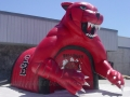 Inflatable Ballingger Tiger Mascot Tunnel