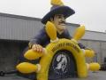 Inflatable Belleville Buccaneers Mascot Tunnel