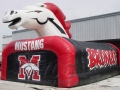 Inflatable Broncos Custom Mascot Tunnel