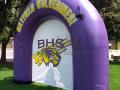Bayfield High School Custom Inflatable Arch