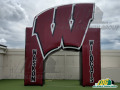 Inflatable Arch Big Letter High School Entryway