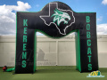 Inflatable Custom Arch Kerens Bobcats