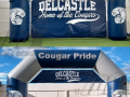 delcastle custom inflatable arch