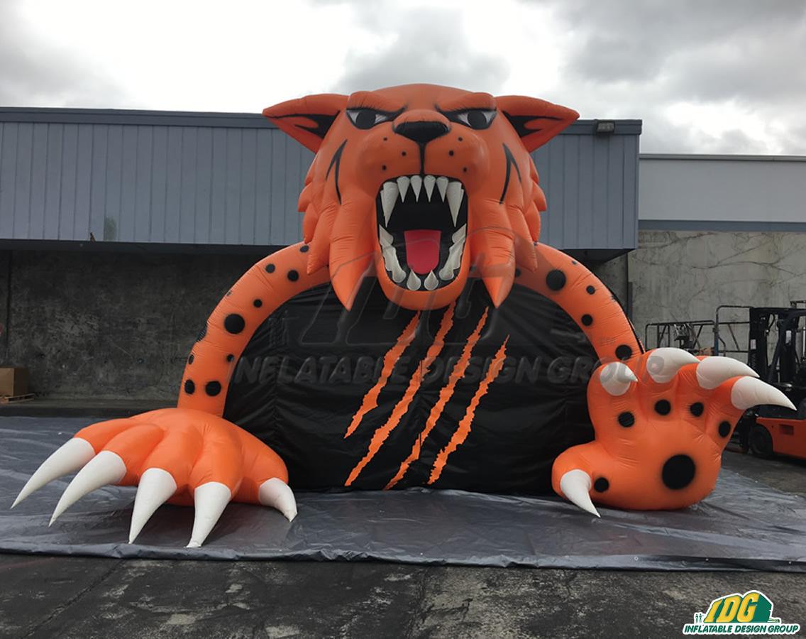 Winter Park Custom Inflatable Wildcats Entryway