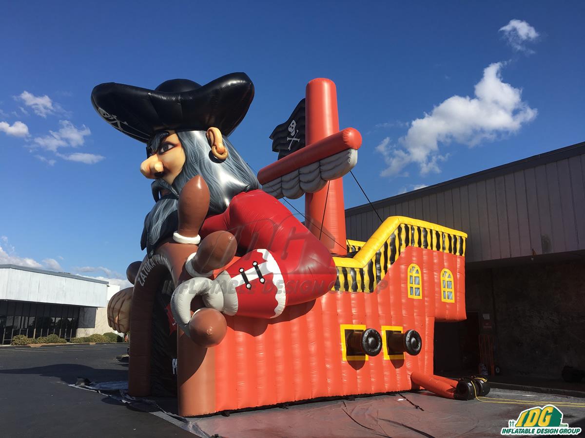 Zatoka Custom Inflatable Pirates Entryway