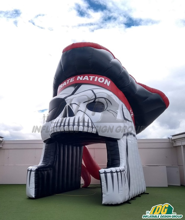 Pike Custom Inflatable Pirates Entryway