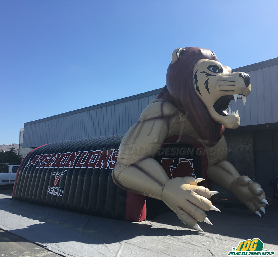 Vernon Custom Inflatable Lions Entryway