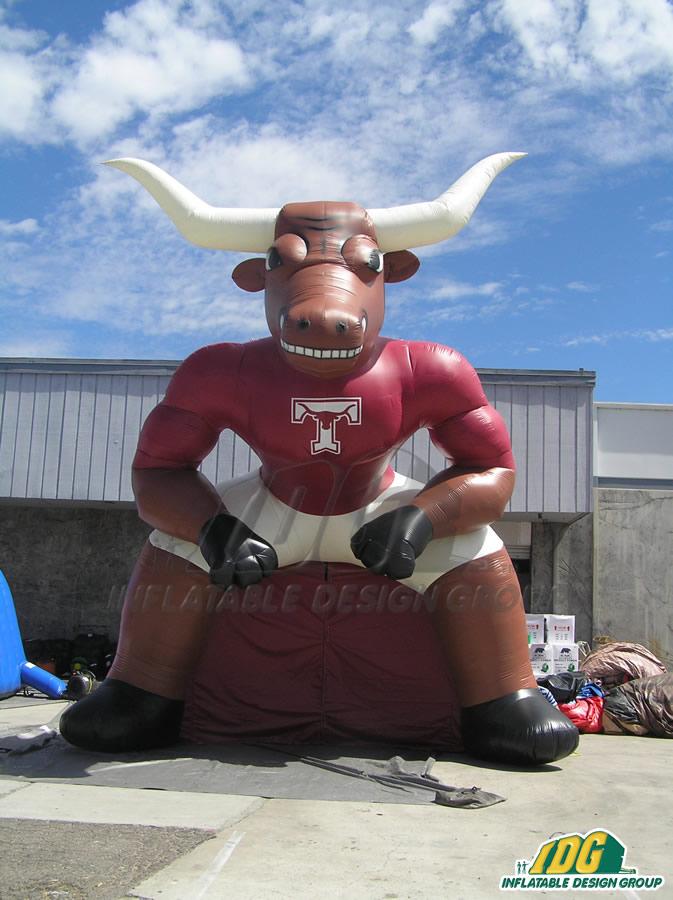 Tarkington Custom Inflatable Longhorns Entryway