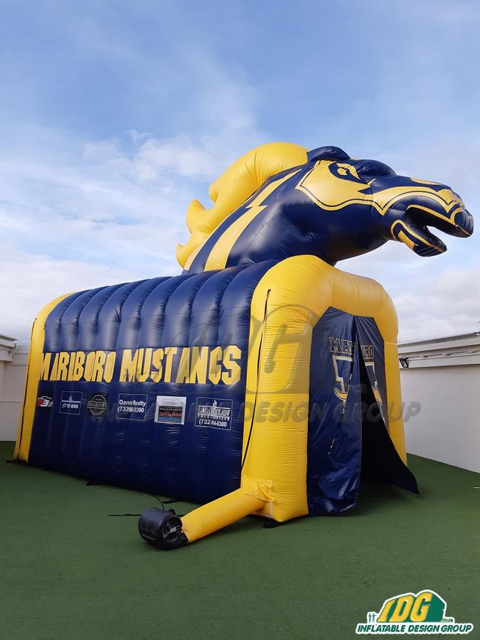Marlboro Custom Inflatable Mustangs Entryways