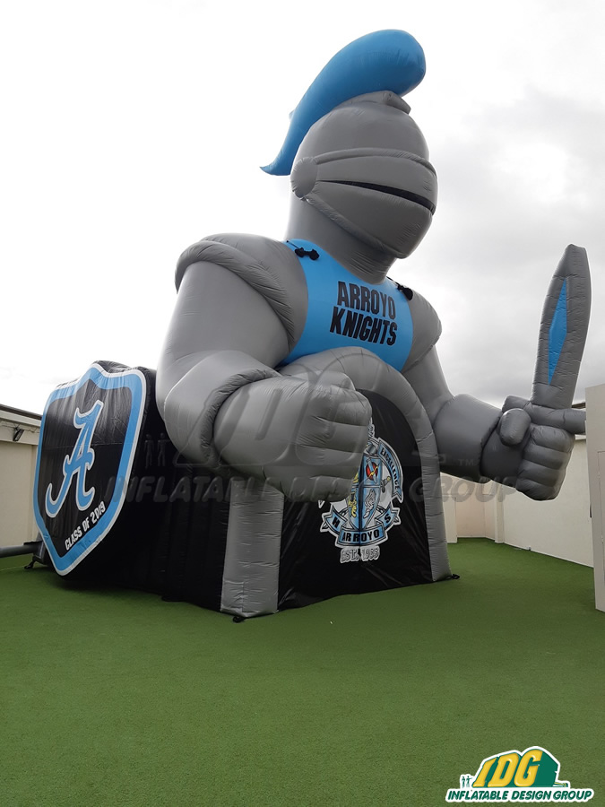 Arroyo Custom Inflatable Knights Entryway