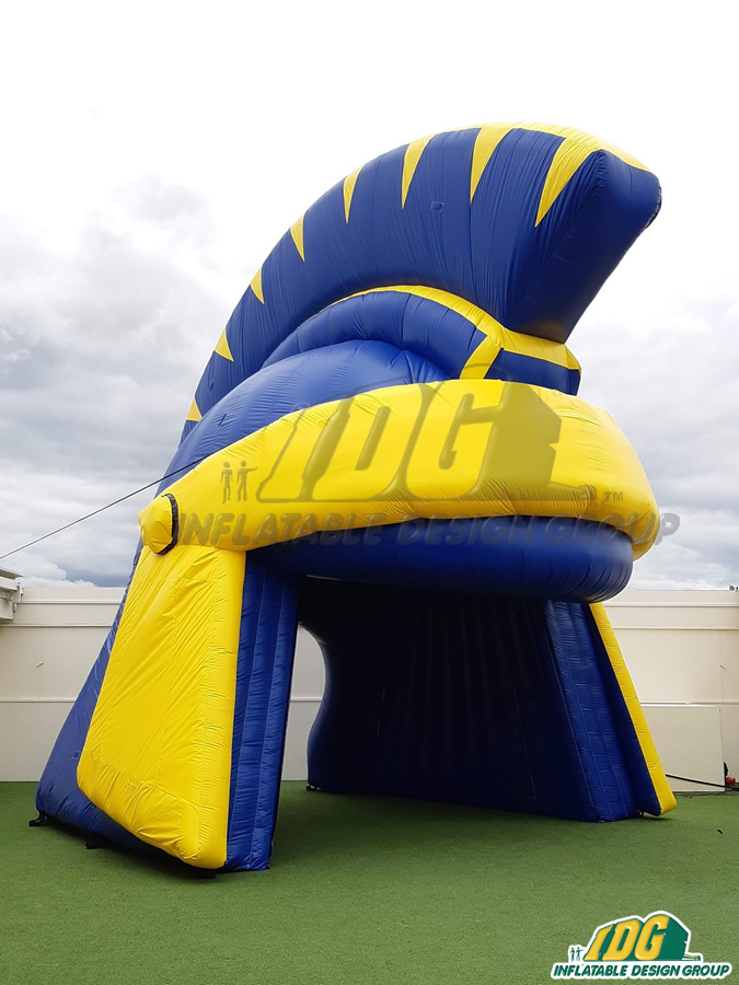 Custom Inflatable Spartans Entryway