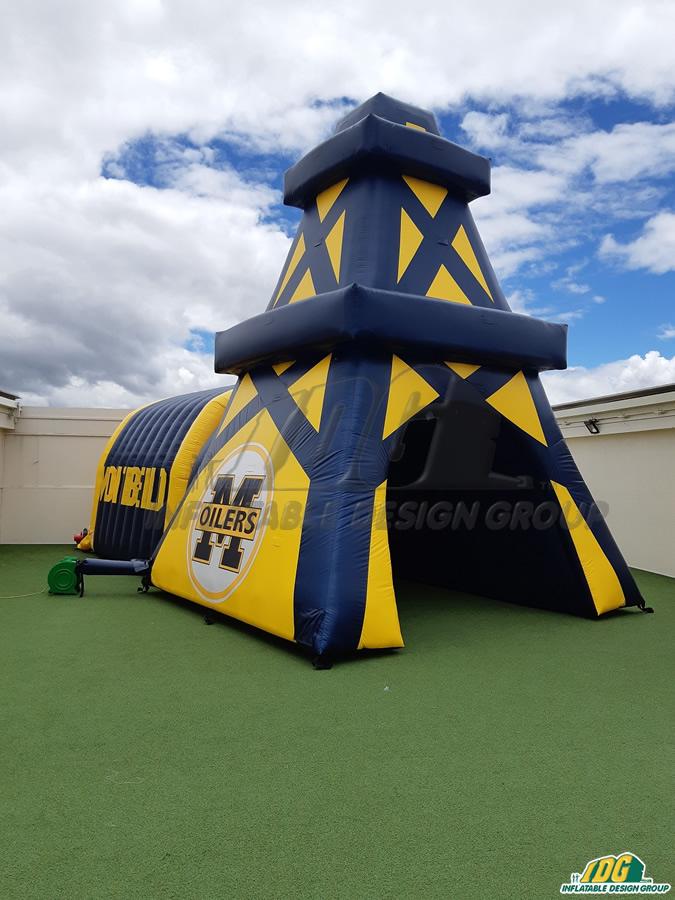 Montebello Custom Inflatable Oiler Entryway
