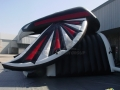 Huffman Custom Inflatable Falcons Entryway