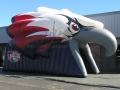 Wakulla Custom Inflatable War Eagles Entryway