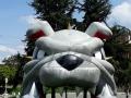 Carrol Custom Inflatable Bulldogs Entryway