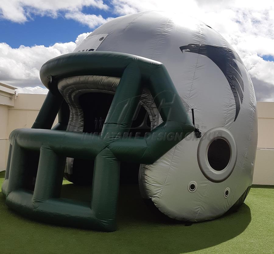 Falcons Custom Inflatable Football Helmet